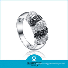Top Quality Double Ring with CZ (SH-R0073)